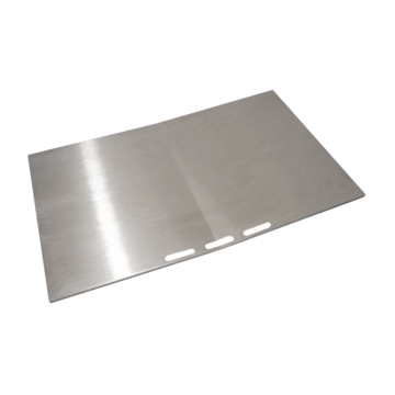 Plate 320mm stainless steel