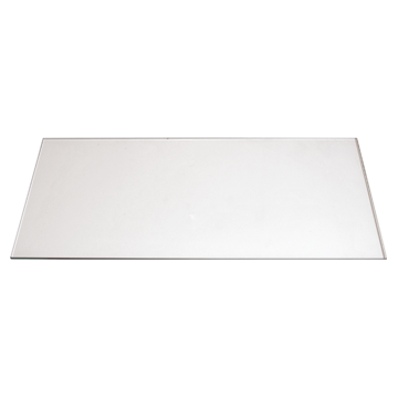 Window Hood Glass 4 Burner 520mm X 240mm